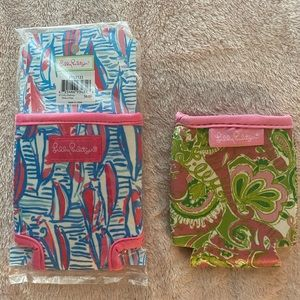 2 Lilly Pulitzer Drink Huggers/Coozies